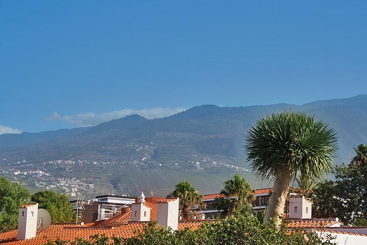 Appartment Blick auf den Teide un die Berge