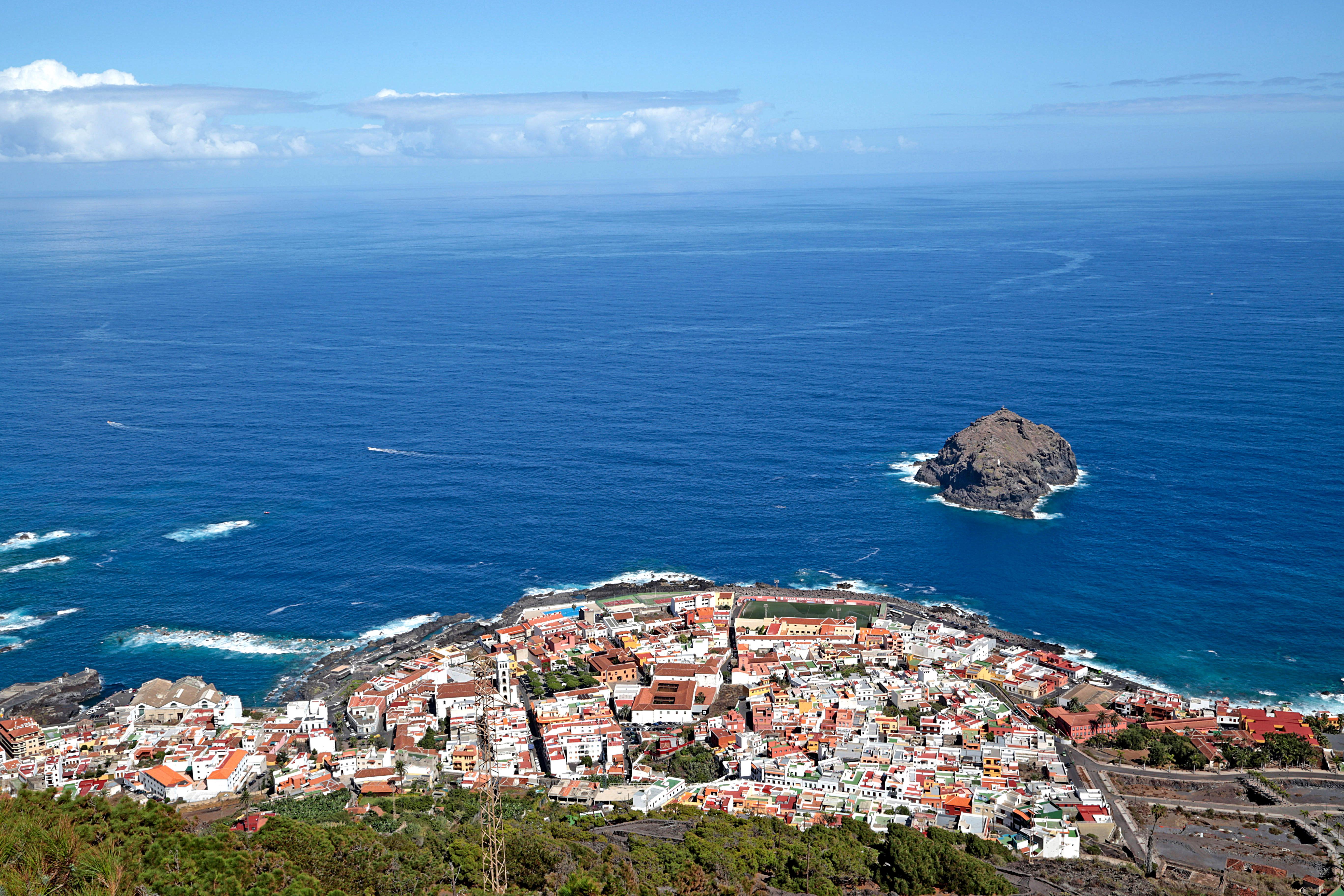 vista aerea Tenerife